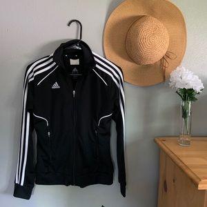 Adidas Black And White Track Jacket